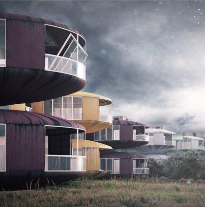 San Zhi UFO Houses