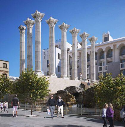 Cordoba`s Roman Temple